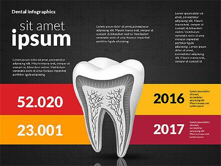 Dental Infographics, Slide 14, 02727, Medical Diagrams and Charts — PoweredTemplate.com