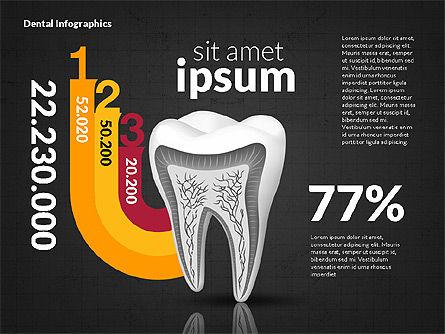 Dental Infographics, Slide 16, 02727, Medical Diagrams and Charts — PoweredTemplate.com