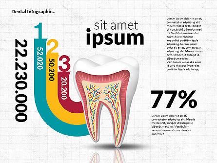 Dental Infographics, Slide 8, 02727, Medical Diagrams and Charts — PoweredTemplate.com