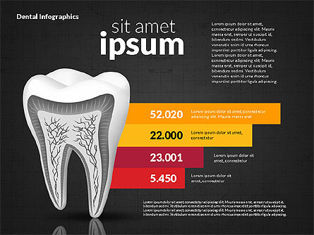 Dental Infographics, Slide 9, 02727, Medical Diagrams and Charts — PoweredTemplate.com