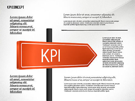 Business Models: KPI Presentation Concept #02729