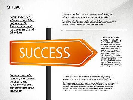 KPI Presentation Concept, Slide 4, 02729, Business Models — PoweredTemplate.com