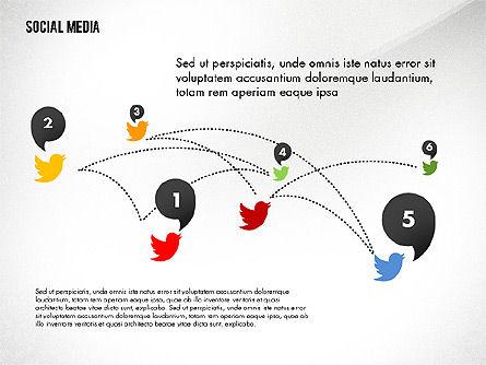 Social Media Energetic Presentation Template, Slide 5, 02732, Presentation Templates — PoweredTemplate.com