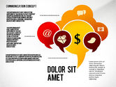 Shapes: Communication Presentation Concept #02738