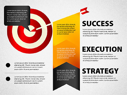 Stage Diagrams: Strategy Execution Success Presentation Concept #02739