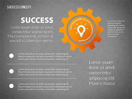 Strategy Execution Success Presentation Concept, Slide 10, 02739, Stage Diagrams — PoweredTemplate.com