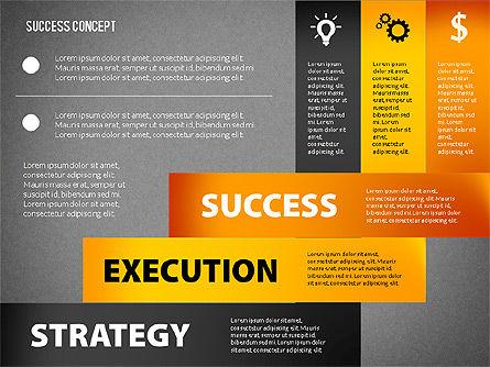 Strategy Execution Success Presentation Concept, Slide 12, 02739, Stage Diagrams — PoweredTemplate.com