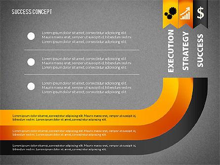 Strategy Execution Success Presentation Concept, Slide 13, 02739, Stage Diagrams — PoweredTemplate.com