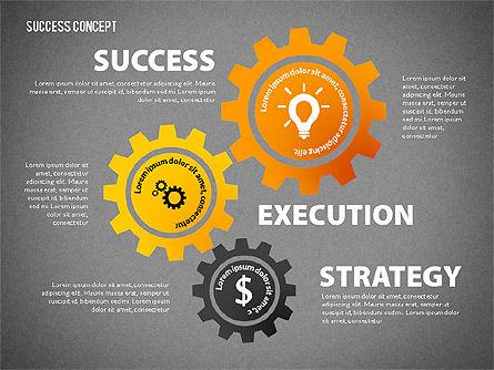Strategy Execution Success Presentation Concept, Slide 14, 02739, Stage Diagrams — PoweredTemplate.com