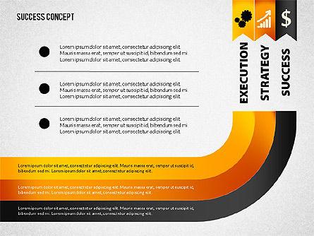 Strategy Execution Success Presentation Concept, Slide 5, 02739, Stage Diagrams — PoweredTemplate.com