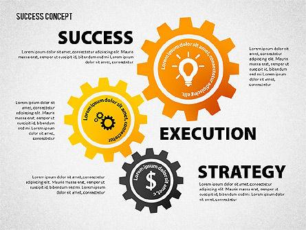 Strategy Execution Success Presentation Concept, Slide 6, 02739, Stage Diagrams — PoweredTemplate.com