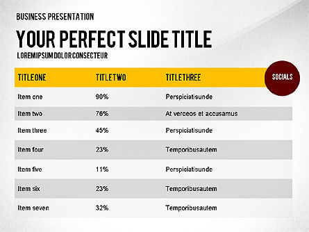 Web Promotion Presentation with Data Driven Charts, Slide 4, 02740, Presentation Templates — PoweredTemplate.com