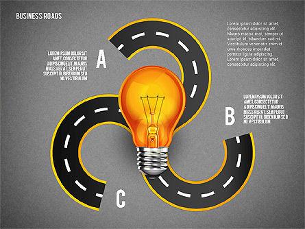Alternate Solutions and Ideas, Slide 11, 02741, Presentation Templates — PoweredTemplate.com