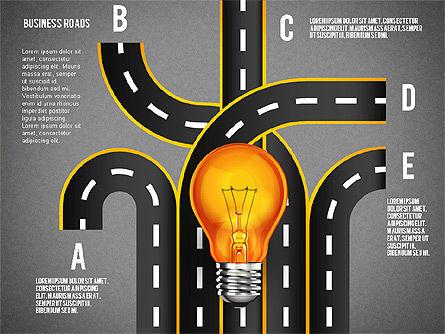Alternate Solutions and Ideas, Slide 12, 02741, Presentation Templates — PoweredTemplate.com