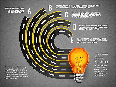 Alternate Solutions and Ideas, Slide 13, 02741, Presentation Templates — PoweredTemplate.com