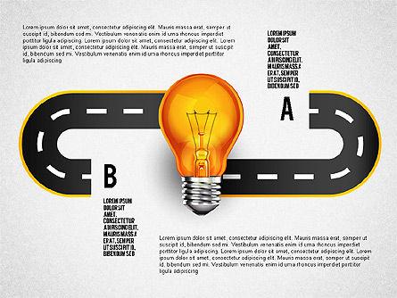 Alternate Solutions and Ideas, Slide 2, 02741, Presentation Templates — PoweredTemplate.com