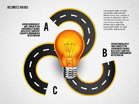 Alternate Solutions and Ideas, Slide 3, 02741, Presentation Templates — PoweredTemplate.com