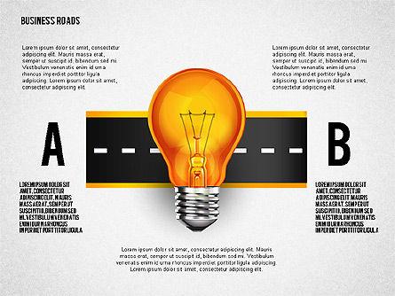 Alternate Solutions and Ideas, Slide 8, 02741, Presentation Templates — PoweredTemplate.com