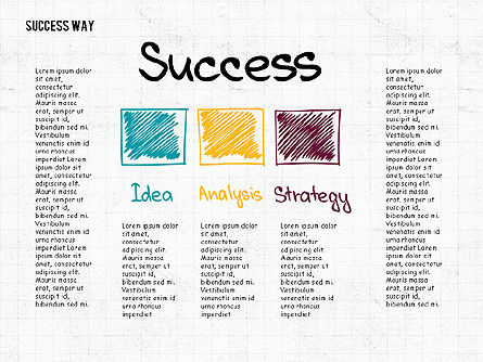 Way to Success Concept Slide 3