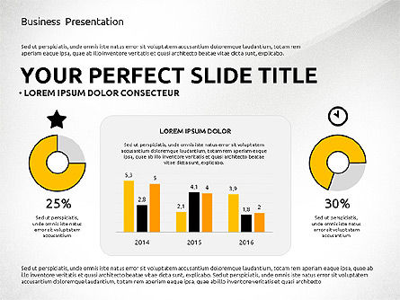 Professional Team Presentation Template, Slide 2, 02744, Presentation Templates — PoweredTemplate.com