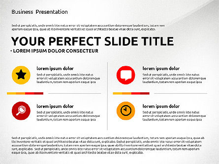 Professional Team Presentation Template, Slide 3, 02744, Presentation Templates — PoweredTemplate.com