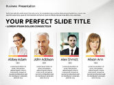 Presentation Templates: Professional Team Presentation Template #02744