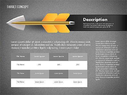 Hitting Target Presentation Concept, Slide 10, 02746, Presentation Templates — PoweredTemplate.com