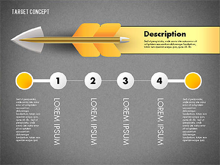 Hitting Target Presentation Concept, Slide 14, 02746, Presentation Templates — PoweredTemplate.com