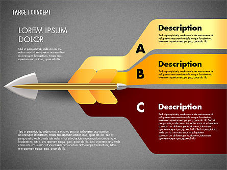 Hitting Target Presentation Concept, Slide 15, 02746, Presentation Templates — PoweredTemplate.com