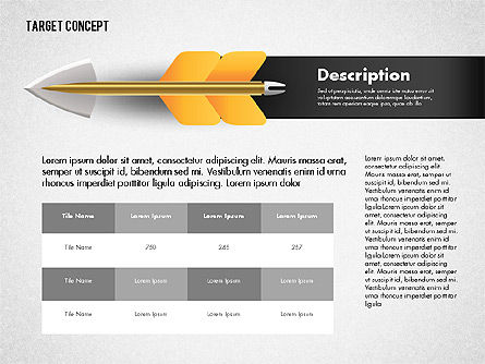 Hitting Target Presentation Concept, Slide 2, 02746, Presentation Templates — PoweredTemplate.com