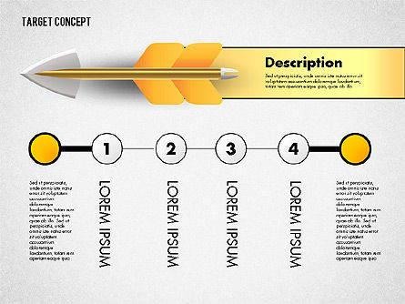 Hitting Target Presentation Concept, Slide 6, 02746, Presentation Templates — PoweredTemplate.com