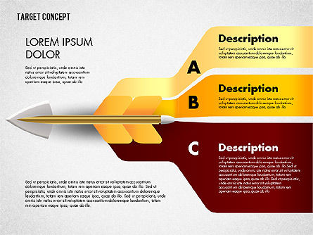 Hitting Target Presentation Concept, Slide 7, 02746, Presentation Templates — PoweredTemplate.com