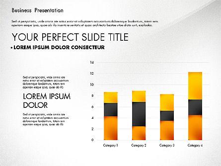 Simple Business Presentation Template, Slide 3, 02747, Business Models — PoweredTemplate.com