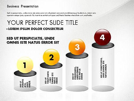 Simple Business Presentation Template, Slide 4, 02747, Business Models — PoweredTemplate.com
