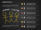 Teamwork Presentation in Chalkboard Style#10