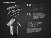 Teamwork Presentation in Chalkboard Style#11