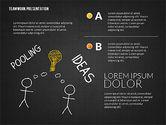 Teamwork Presentation in Chalkboard Style#15