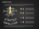 Teamwork Presentation in Chalkboard Style#16