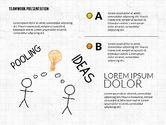 Teamwork Presentation in Chalkboard Style#7
