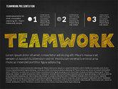 Teamwork Presentation in Chalkboard Style#9