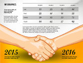 Infographics: Infografica di negoziazione concept #02750