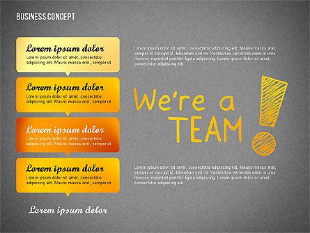 Team Presentation Concept, Slide 11, 02755, Presentation Templates — PoweredTemplate.com