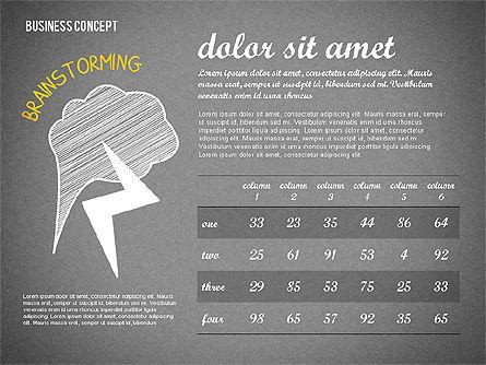 Team Presentation Concept, Slide 14, 02755, Presentation Templates — PoweredTemplate.com