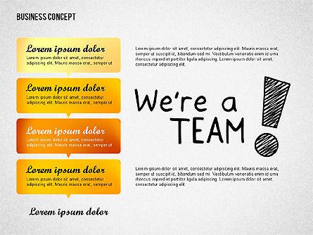 Team Presentation Concept, Slide 3, 02755, Presentation Templates — PoweredTemplate.com
