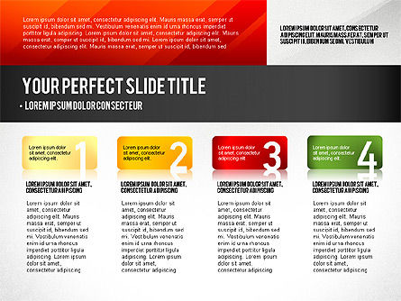 Presentation Templates: Presentation Concept with Numbers #02756