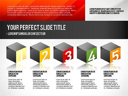 Presentation Concept with Numbers, Slide 2, 02756, Presentation Templates — PoweredTemplate.com