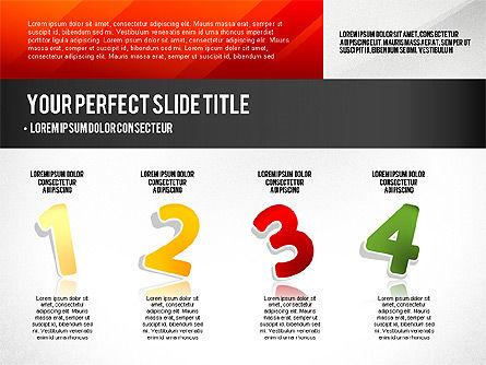 Presentation Concept with Numbers, Slide 3, 02756, Presentation Templates — PoweredTemplate.com