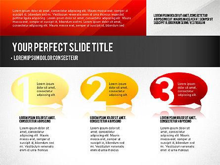 Presentation Concept with Numbers, Slide 4, 02756, Presentation Templates — PoweredTemplate.com