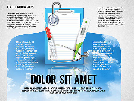 Medical Diagrams and Charts: Medical Infographics Toolbox #02757
