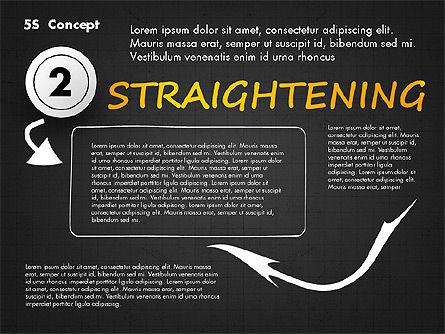 5S Diagram Concept, Slide 11, 02760, Business Models — PoweredTemplate.com